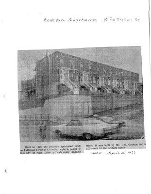 Belleville Apartments: 10 Patterson St.