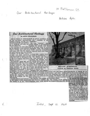 Our Architectural Heritage: Bellvue Apartments