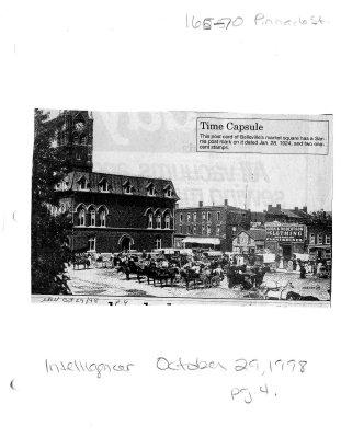 Time capsule: Market Square