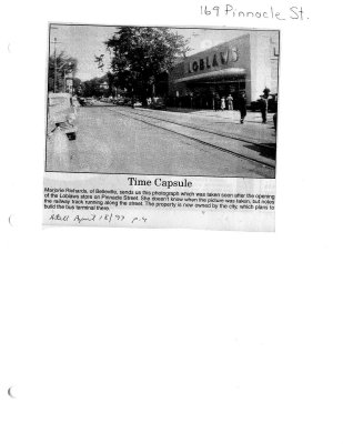 Time capsule: 169 Pinnacle St.