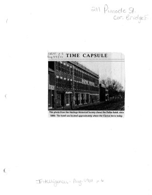 Time capsule: 211 Pinnacle Street