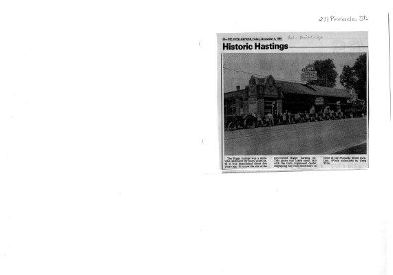 Historic Hastings: 211 Pinnacle St.