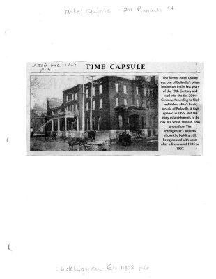 Time capsule: Quinte Hotel