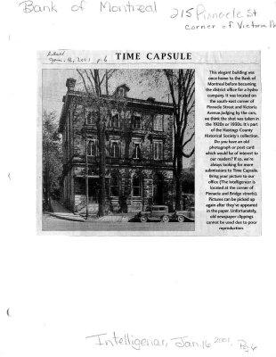 Time capsule: Pinnacle St. & Victoria