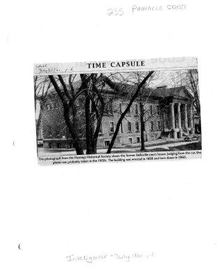 Time capsule: Belleville Court House