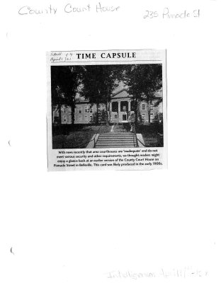 Time capsule: Court House