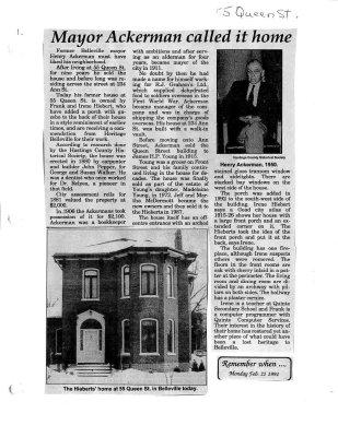 Mayor Ackerman called it home: 55 Queen Street