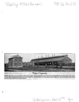 Time capsule: Rolling Mills