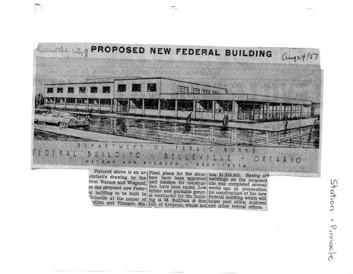 Proposed new Federal Building