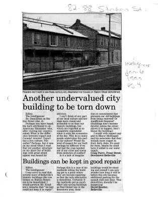 Another undervalued city building to be torn down