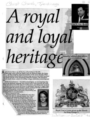 A royal and loyal heritage
