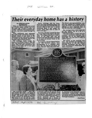 Their everyday home has a history