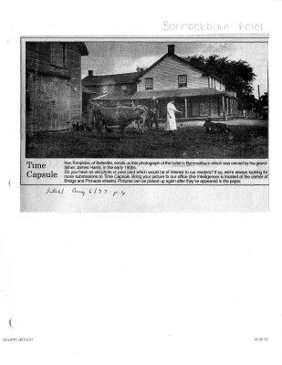 Time capsule: Bannockburn hotel