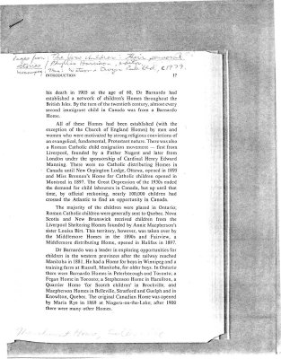 """Selection of pages from """"The Home Children: their personal stories"""""""