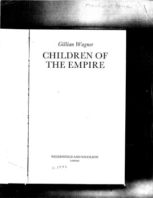 Children of the Empire - selected pages