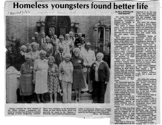 Homeless youngsters found better life