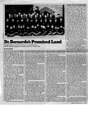 Dr. Bernardo's Promised Land