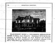 Marchmont Home - from Belleville Directory