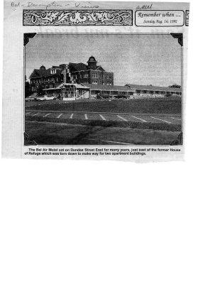 Belleville View: Bel Air Motel