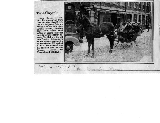 Time capsule: Front Street 1939