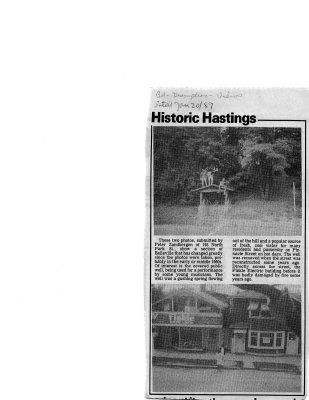 Historic Hastings: Pinnacle street 1960s