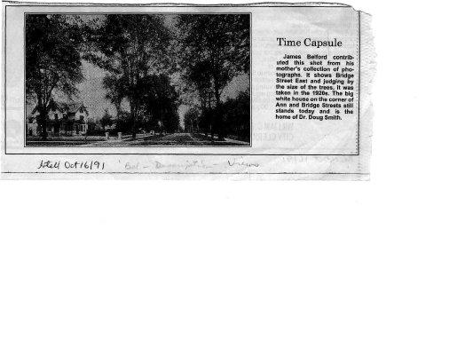 Time capsule: Bridge Street East