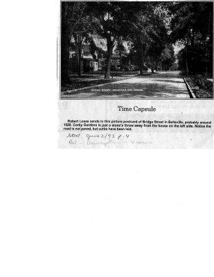Time capsule: Bridge Street