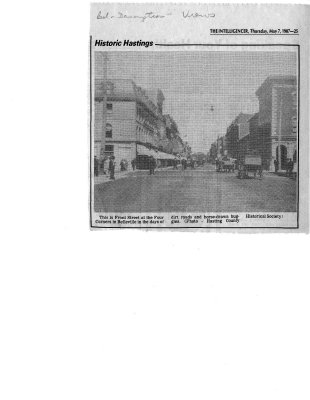 Historic Hastings: Front Street