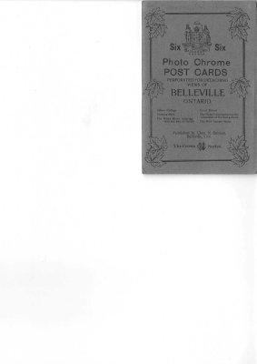 Souvenir Mailing Card - Belleville