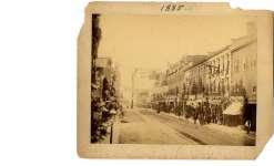Street in Belleville (Ont.) c.1885