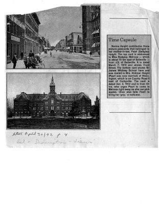 Time capsule: Front Street & Sir James Whitney postcards