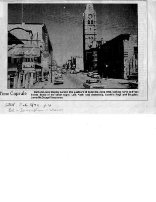 Time capsule: Belleville postcard 1960's