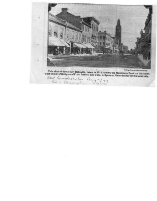 Remember when: Front street 1911