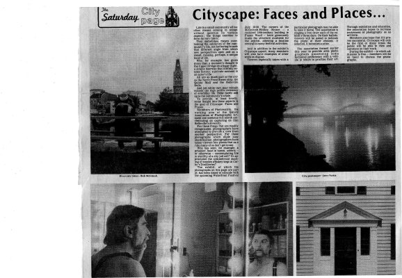 Cityscape: Faces and Places