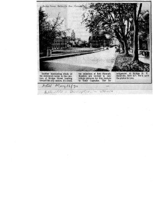 Belleville: Bridge Street