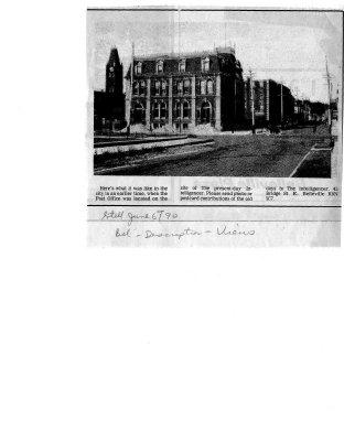 Belleville Ontario: Post Office