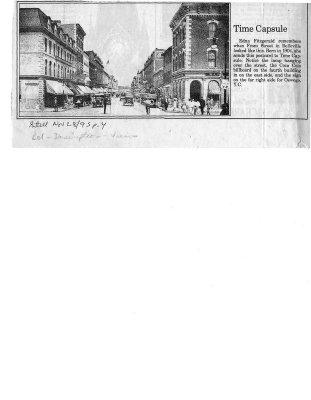 Time capsule: Front Street Belleville