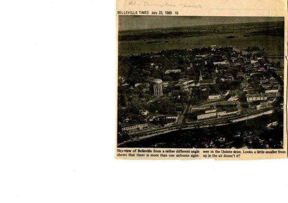 Sky-view of Belleville