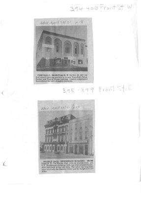394 - 399 Front street belleville