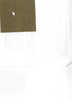 Souvenir of Belleville booklet