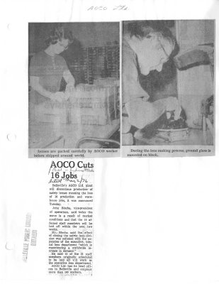 AOCO cuts 16 jobs