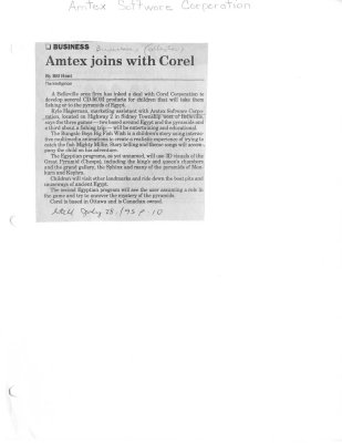 Amtex joins with Corel