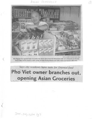 Pho Viet owner branches out, opening Asian Groceries