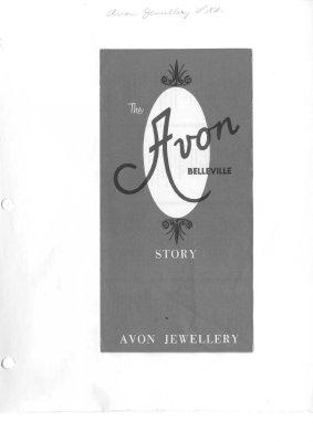 The Avon Belleville Story - Pamphlet