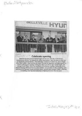 Belleville Hyundai: Celebrate opening