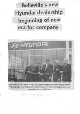 Belleville's new Hyundai dealership beginning of new era for company