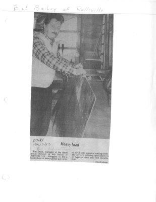 Heavyload: Bill Bailey Metalcraft