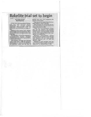 Bakelite trial set to begin
