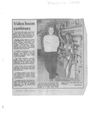 Video boom continues: Bandito video