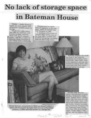 Behind Closed Doors: No lack of storage space in Bateman House